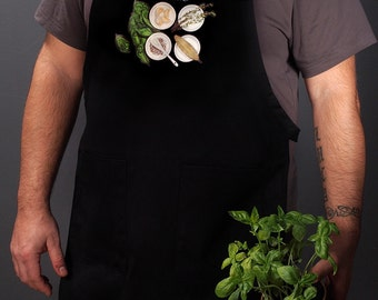 Kitchen aprons for the modern home chef. For men and women. (Ratatouille, France) FREE SHIPPING