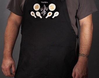 Kitchen aprons for the modern home chef. For men and women. (Tourtière, Canada) FREE SHIPPING