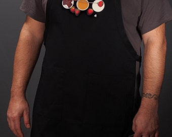 Kitchen aprons for the modern home chef. For men and women (Fondue au Chocolat) FREE SHIPPING