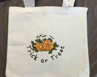 Halloween Candy Bag - Pumpkin Trick or Treat