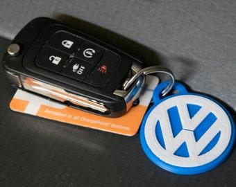 VW Keychain Tag