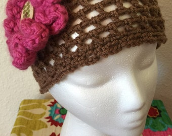 Women's crochet hat