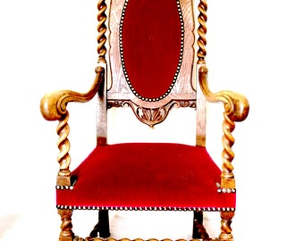 Twisted Throne Chairs