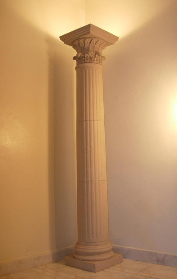 Items Similar To Greek Column Floor Lamp On Etsy