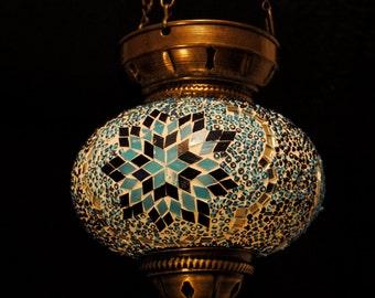 Pammukale  - Hanging Turkish Pendant Light