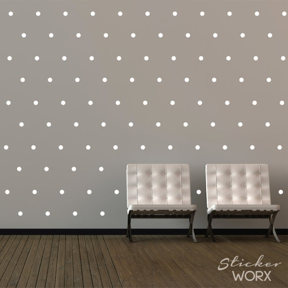 How to Apply Polka Dot Stickers