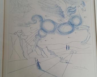 Pegasus By Dali