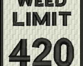 420 Embroidery Design