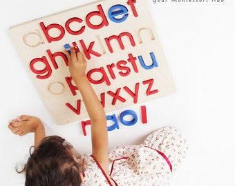 Montessori Alphabet Puzzle