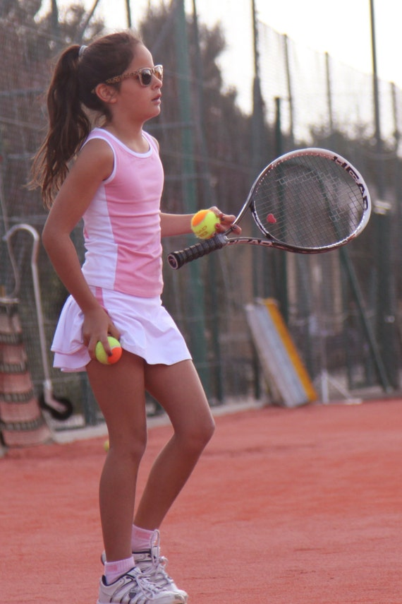 Wimbledon Tennis Clothes Outfit Tennis Skirt Girls Junior