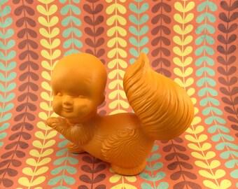 SALE Squirrel Boy Ceramic Taxidermy