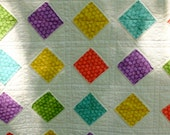 Quilt with Diamond Shapes