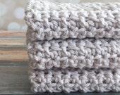 Cotton Crochet Dishcloth/Washcloth