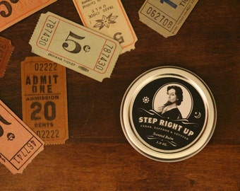 Step Right Up - Cedar, Saffron and Vetyver Scented Balm