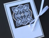 25th Wedding Anniversary Gift, Wedding celebration, Bridal Party Gifts, Engagement Brag Book, 5x7 Personalized Beaded Photo Album