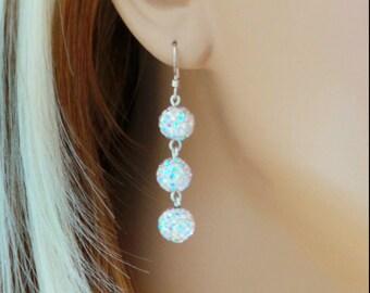 Pave Earrings
