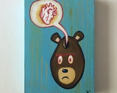 Bear Heart - Original Art by Kevin Kosmicki