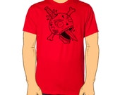 Skull and Dagger Men's T-Shirt Small, Medium, Large, XL in 7 Colors