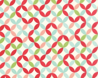 Hello Darling fabric by Bonnie and Camille for Moda and Fabric Shoppe - Hello Darling Orange Peel in Multi