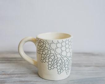 Handmade Grey Mug
