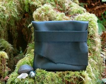 Black Charcoal Light Traveler Eco Leather Case