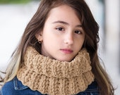 Sand Beige Neck Warmer, Cowl