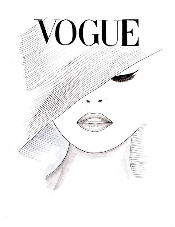Image Result For Vogue Coloring Book
