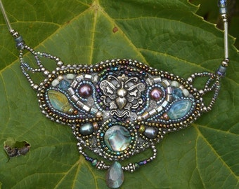 Butterfly Reflections Necklace