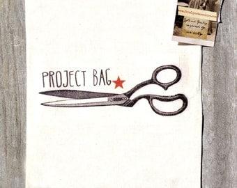 Project bag, knitting bag