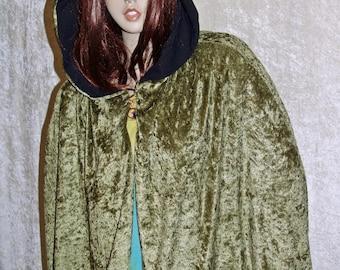 Cape Green Cloak Handmade