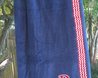 Navy - Spa Wrap Towel with SNAPS - Graduation / BRIDESMAIDS / Girls Trip Gifts / New Mom
