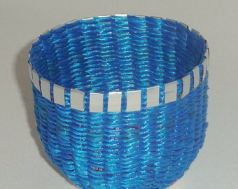 Pop Can Bowl - Blue #1