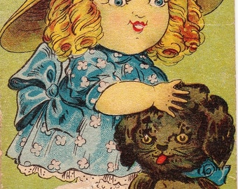 Antique Book, The Story of Dimple Dot, 1916