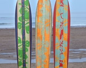 The Island Collection / Surfboard Wooden Growth Charts / Kids Wood Height Chart / Baby Shower Gift / Personalized Growth Chart