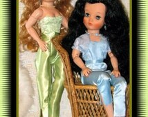 """Sewing Pattern Bustier Bolero Pants fits19"""" Fashion Dolls Dollikin Revlon"""