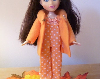 Hi Meet Autumn..bratz make under doll...Doll, Romper and Fleece Jacket