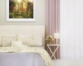 SALE Untamed, Enchanted Garden Art Print 11 x 14 inch
