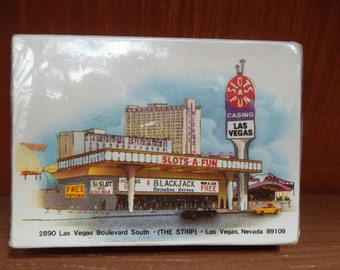 Vintage Slots A Fun Casino Las Vegas Deck of Playing Cards ~Sealed NOS