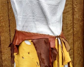 Buckskin Tribal Skirt