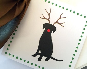 gift tags christmas Dog Gift Tags Holiday Party Favor Tags Black Lab Christmas Labels Gift Tag Set Black Lab Tags Gift Wrapping Set of 25