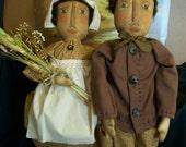 Pattern,Primitive dolls, for Pilgrims for home decor, by Dumplinragamuffin,HAFAIR,OFG