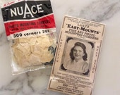 Vintage NuAce and Lartz Easy Mounts Photo Mounting Corners