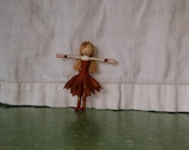 Autumn Fairy Doll,  Waldorf Flower fairy, Woodland fairy