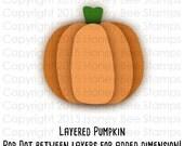 Digital SVG Print and Cut File - Country Pumpkin - Instant Digital Download! PSL - Pumpkin Spice Everything
