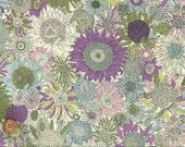 Small Susanna, Liberty Tana Lawn Fabric, Liberty of London, Liberty Japan, Cotton Print Scrap, Chic Floral Design, Quilt, Patchwork, kt8158d