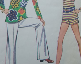 Vintage McCall''s Mod  Sewing Pattern for Tinoc, Shorto 2246