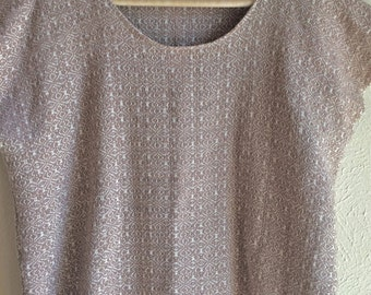 Handwoven tunic shirt