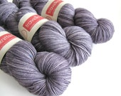 Pure Merino hand dyed sock yarn - London Skies