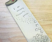 Personalized Stamped Bookmark