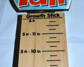 """Wood Hanging """"I Am This Tall""""  Growth Stick Made in USA by Maple Landmark ships in 24 hours"""